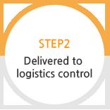 STEP2 Delivered to logistics center