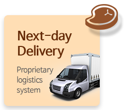 Next-day Delivery - Proprietary logistics syste
