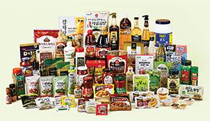 소스, 드레싱, 분말제품 등 다양한 제품